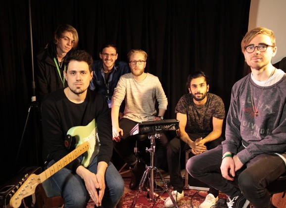 Made in Chelsea Band Record Session at ACM