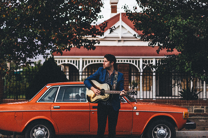 Interview with Australian troubadour, Jack Carty